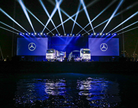 Mapping outdoor Mecedes Actros