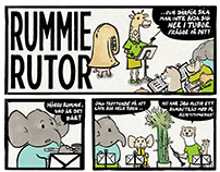 RUMMIE - A COMIC STRIP ABOUT MUSIC