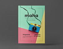 A4 Magazine Mockup 4
