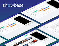 Showbase Webapp UX/UI Design