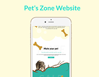 Pet's zone website