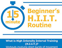 Infographic - H.I.I.T. Routine