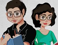 Caricaturas (cartoons)