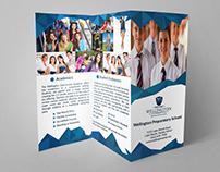 Wellington Preparatory School Tri-fold Brochure Design