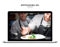 Bottiglieria 1881 | Website design