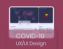 Covid-19 Website UX/UI Design