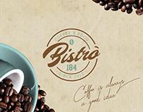 Realizzazione Logo per: Bistrò 184 | Coffee & Food
