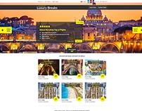 Holiday Deals Website (UK 2015)
