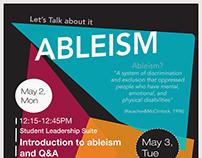 Ableism 101 Workshop (2015)