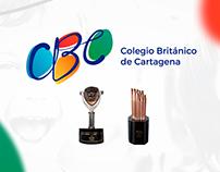 Colegio Británico de Cartagena - Branding