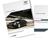 Cadillac V-Series Racing visual identity
