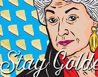 'Stay Golden' Pillows