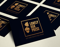 Lonely oak press - Branding & site