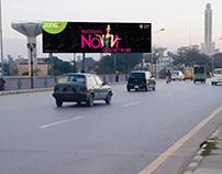 Billboard Design | ZONG 4G A NEW DREAM