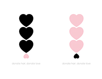 "Logo Re-Design ""Donate Hair. Donate Love"""