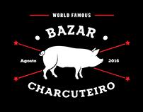 Logotipo Evento - Bazar Charcuteiro