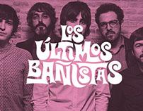 Lettering Los Últimos bañistas