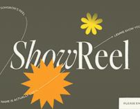 Showreel'21
