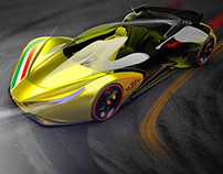 Ferrari Aperta - Racing edition Italia