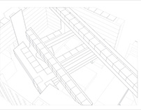 Sears Gutting Perspective (Aerial- Rough)