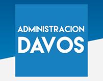 Administración Davos | Diseño de Logotipo