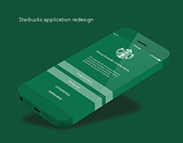 starbucks application redesign
