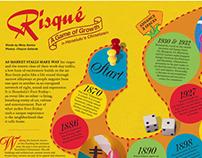 Game Board Magazine Spread: Abstract Magazine