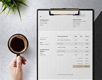 Free Word Invoice Templates