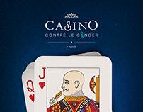 CASINO CONTRE LE CANCER I Logo I Print I POS