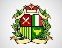 Coat of arms custom logo logotype design Дизайн лого