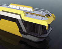 Houseboat for divers