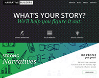 Narrative Builder Website Redesign