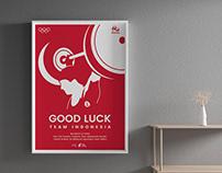 Good Luck #TeamIndonesia
