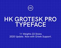 HK Grotesk Pro Typeface