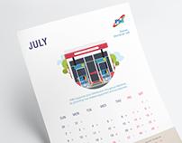 Fuel Supplies Maldives Calendar 2017