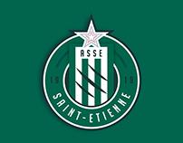AS Saint-Étienne - Rebranding
