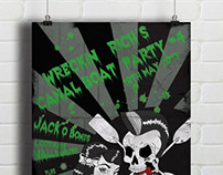 Poster Design: Psychobilly Party