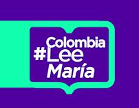 #ColombiaLeeMaría