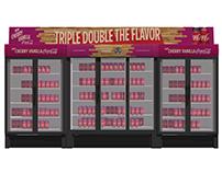Cherry Vanilla Coca-Cola& Final Four Vending Machines