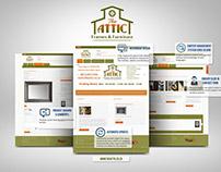 The Attic Website Design & Development