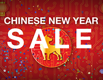 2018 Chinese New Year sale Created to promote a 2018 Ch