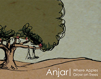 Anjar - where apples grow on trees