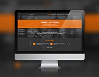 Orwell 2K-Touch website