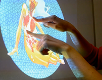 Eje Z - interactive instalation