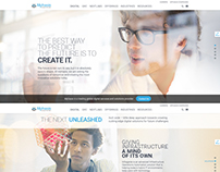 Mphasis corporate website