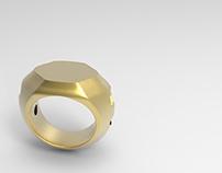Modelagem Anel 3D