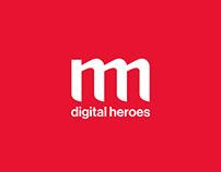 Digital Heroes illustrations