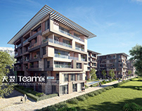 3D rendering - Residential project