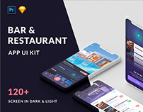 Cabar iOS UI Kit - Restaurants, Bar and Coffee