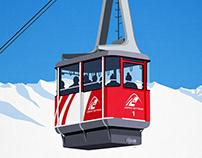 Jasper Ski Poster